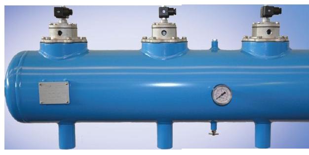 Utrustning för stoftfilterrensning